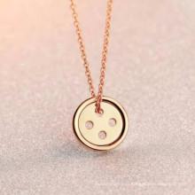 Простой из нержавеющей стали Корея / Непал / маори ожерелье ювелирные изделия