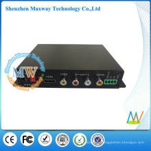 full HD 1080P multi media player with vga output