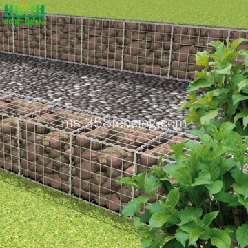 Berkualiti Galvanized Welded Wire Gabion Mesh