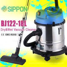 Aspirador húmedo y seco del acero inoxidable BJ122-18L1200W Aparato doméstico / colector del polvo