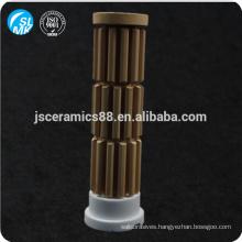 ceramic bobbin heater cordierite parts electric ceramics