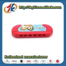 Brinquedo de harmônica de plástico para instrumentos musicais para crianças bonitas