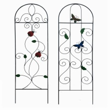Simple Linellae Yard Safeguard Decoration Metal Fence for Garden