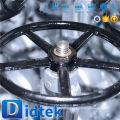 Aseguramiento del comercio Didtek API600 Válvula de compuerta de vástago de 4 '' 150LB WCB usada en aceite industrial