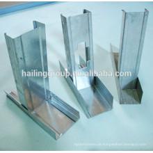 Trockenbau Metall Stud und Track mit günstigen Preisen