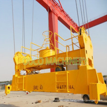 Heavy Lifting Hydraulic Telescopic Container Spreader