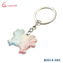 Cute Animal Design Print Metal Keyring