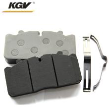 Noiseless brake pads for large trucks