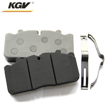 Noiseless brake pads for large trucks