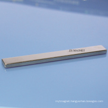 Long High Quality Block NdFeB Neodymium Magnet with ISO14001/RoHS