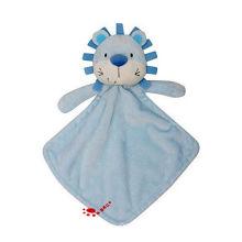 Новорожденных Мягкая Лев Утешитель Одеяло Безопасности Животных