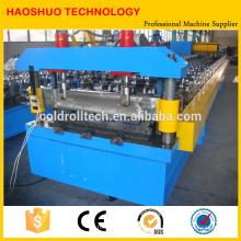 Lineare Profiliermaschine für Metalldach- und Sandwichplattenfertigung