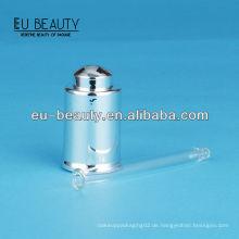 UV-Beschichtung glänzendes Silber Glaströpfchen 18/400