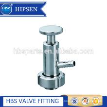 Food grade sanitary stainless steel sample valve