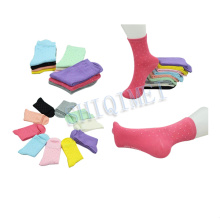 Factory Supply Ladies Cotton Polyester Colorful Socks