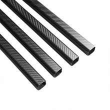 30X30mm carbon fiber octagonal tube with aluminum clamps