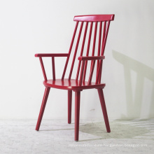 Wooden Furniture Solid Wood Dining Chair with Arm