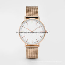 Ultra Thin Stainless Steel Sports Mens Wrist Watches Mesh Band
