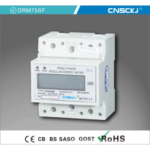 Digits Electric DIN Rail Single Phase Digital Energy Meter