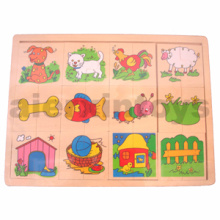 Wooden Match up Puzzle (81003)