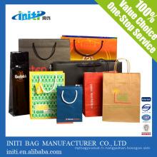 China Hot Factory Quality Cheap Recycle sac en papier kraft pour faire du shopping