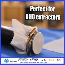 Pantalla de presión de calor de extracción de aceite esencial de acero inoxidable de 25 micrones