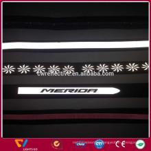 Hot Sale Silver Reflective Fabric Tape For Clothing