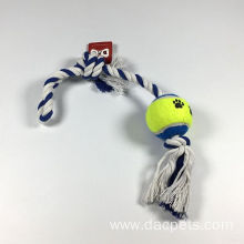Cotton Rope with tennis ball
