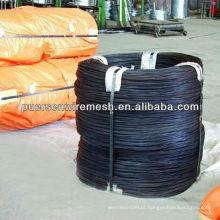 0,7 milímetros Black amarrando fio / fio recozido preto (fábrica)