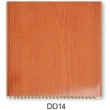 Hölzerne Oberfläche PVC-Platte (25cm-DD14)