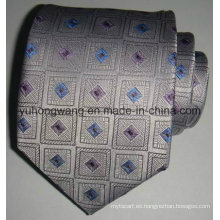 Corbata tejida de seda del jacquard de los hombres calientes de la venta