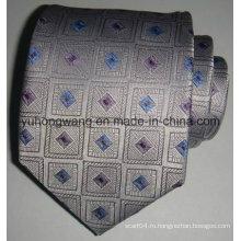 Горячая продажа мужчин шелковые тканые жаккардовые галстук