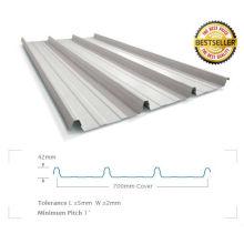 prix de feuilles de toiture métallique par feuille