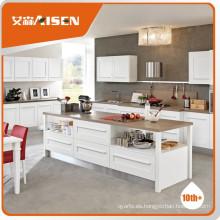 Satisfactorio servicio de madera contrachapada gabinetes de cocina