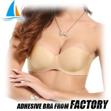 Breast lifting adhesive push up Indischer Baumwoll-BH