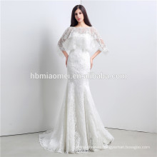 2017 Cheap champagne color laced ball gown dress luxury off shoulder free shipping wedding dress wholesale