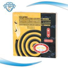 Bobine de moustique noir de 130 mm avec huile essentielle de citronnelle / serpentine de moustique