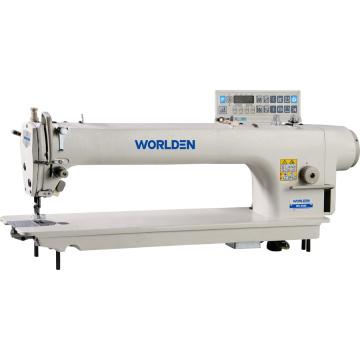 Direct Drive WD-9988m-56 longo braço computadorizado Lockstitch máquina de costura