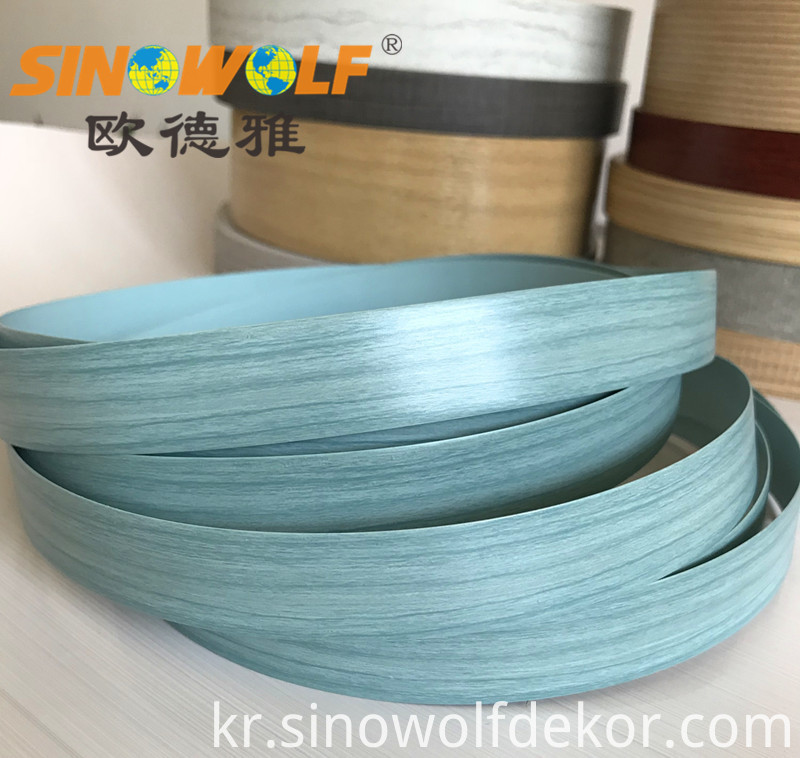 Blue Wood Grain Edge Banding 4
