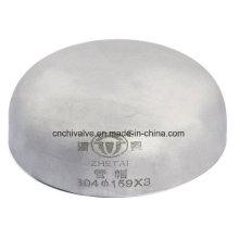 Acessórios de aço inoxidável Butt Weld Cap