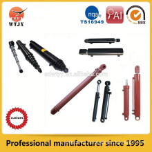 Two stage hydraulic cylinder,multi stage,long stroke telescopic hydraulic cylinders