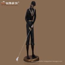 wholesale bronze polished new customized golfer figure