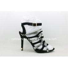 Sexy High Heels Snakeskin Lady Straps Schuhe