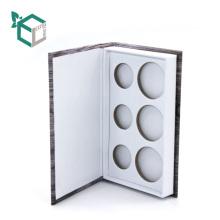 Customized environmental private label cardboard eyeshadow palette