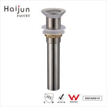 Haijun 2017 Precio de venta al por mayor OEM cUpc pulido agua fregadero pop-up de drenaje