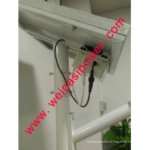 12W Solar-Straßenlaterne, Lithiumbatterie, Haus oder im Freien unter Verwendung der Solarlampe, im Freiengarten-Licht