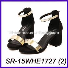 Sandalias atractivas del alto talón del precio alto de las sandalias de la suposición del alto talón de las sandalias del alto talón de las mujeres sandalias baratas del alto talón del precio
