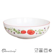 """30.5 """"Cm grand bol de porcelaine avec l'utilisation à la maison de style de jardin"""