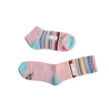Calcetines de calcetines de calcetines con color teñido de algodón (fss-08)
