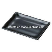 100%Melamine Dinnerware-Rectangle Plate (QQBKA204)